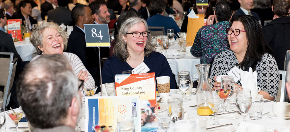 Lots of happy attendees last year including Kristilyn Reese and Mary Sakaguchi — don't miss this year's event on April 3.