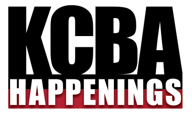 KCBA Happenings Graphic