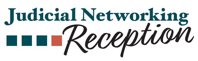 judicial networking reception banner