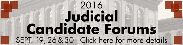 Judicial Candidate Forums